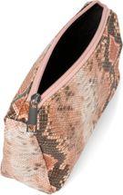 styleBREAKER Damen Beautybag in bunter Schlangen Optik, Kosmetiktasche, Make Up Bag, Taschen Organizer 02013017 – Bild 7