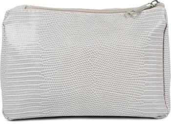 styleBREAKER Damen Beautybag Krokodil Optik Oberfläche, Kosmetiktasche, Make Up Bag, Taschen Organizer 02013018 – Bild 9