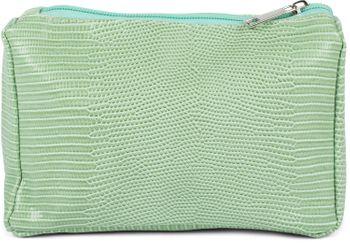 styleBREAKER Damen Beautybag Krokodil Optik Oberfläche, Kosmetiktasche, Make Up Bag, Taschen Organizer 02013018 – Bild 1