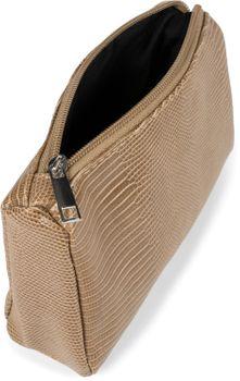 styleBREAKER Damen Beautybag Krokodil Optik Oberfläche, Kosmetiktasche, Make Up Bag, Taschen Organizer 02013018 – Bild 7