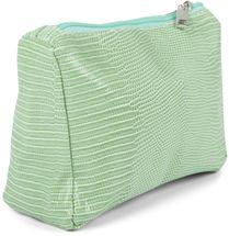 styleBREAKER Damen Beautybag Krokodil Optik Oberfläche, Kosmetiktasche, Make Up Bag, Taschen Organizer 02013018 – Bild 2