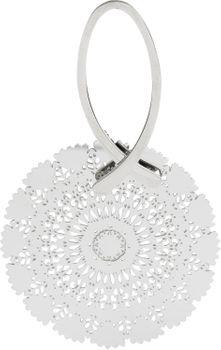 styleBREAKER Damen Edelstahl Ohrringe mit großem runden Ornament Anhänger, Stecker, Ohrhänger, Ohrschmuck 05090024 – Bild 2