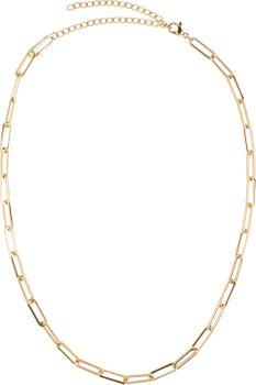 styleBREAKER Damen Edelstahl Kette ohne Anhänger mit grober Gliederkette, Halskette, Halsschmuck, Schmuck, Chain Optik 05030064 – Bild 1