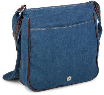 styleBREAKER Jeans Umhängetasche mit Strass Applikationen, Handtasche 02012004 – Bild 19