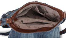 styleBREAKER jeans shoulder bag with rhinestone appliqué, hand bag 02012004 – Bild 15