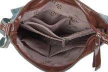 styleBREAKER Jeans Umhängetasche mit Strass Applikationen, Handtasche 02012004 – Bild 25