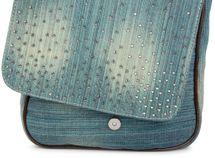 styleBREAKER Jeans Umhängetasche mit Strass Applikationen, Handtasche 02012004 – Bild 23