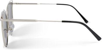 styleBREAKER Damen Cat Eye Sonnenbrille mit doppeltem Rahmen und Polycarbonat Gläser, Katzenaugen Form 09020121