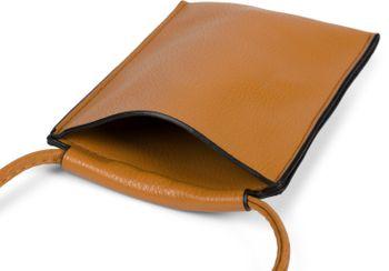 styleBREAKER Damen Handy Umhängetasche Unifarben Matt, Einfarbig, Schultertasche, Handy-Tragetasche, Mini Bag 02012352 – Bild 34