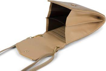 styleBREAKER Damen Mini Bag Umhängetasche, mit Metall Detail am Umschlag, Handytasche, Schultertasche, Handtasche 02012353 – Bild 33
