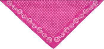 styleBREAKER Damen Dreieckstuch Baumwolle mit Blümchen Muster, Multifunktion Tuch, Halstuch, Kopftuch, Bandana 01016201 – Bild 20