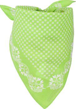 styleBREAKER Damen Dreieckstuch Baumwolle mit Blümchen Muster, Multifunktion Tuch, Halstuch, Kopftuch, Bandana 01016201 – Bild 9