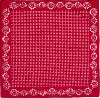 styleBREAKER Damen Dreieckstuch Baumwolle mit Blümchen Muster, Multifunktion Tuch, Halstuch, Kopftuch, Bandana 01016201 – Bild 3