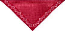 styleBREAKER Damen Dreieckstuch Baumwolle mit Blümchen Muster, Multifunktion Tuch, Halstuch, Kopftuch, Bandana 01016201 – Bild 4