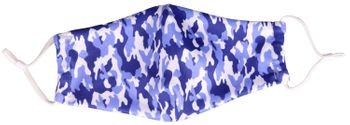 styleBREAKER Unisex Stoffmaske mit Camouflage Flecktarn Muster, Doppellagig, Wiederverwendbar, Waschbar, Community Maske 08040004 – Bild 9