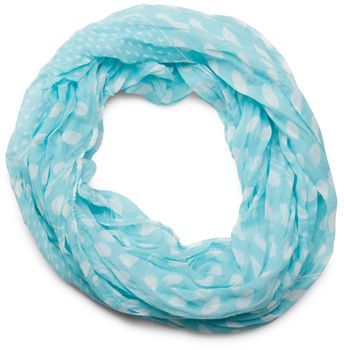 styleBREAKER light, silky polka dot pattern tube scarf, large and small dots 01016079 – Bild 2