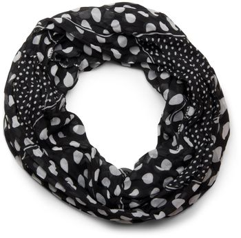 styleBREAKER light, silky polka dot pattern tube scarf, large and small dots 01016079 – Bild 13