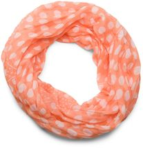 styleBREAKER light, silky polka dot pattern tube scarf, large and small dots 01016079 – Bild 1