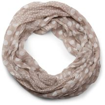 styleBREAKER light, silky polka dot pattern tube scarf, large and small dots 01016079 – Bild 8