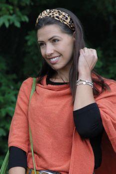 styleBREAKER Damen Haarreif mit Leoparden Animal Print Muster und Knoten, Retro Vintage Look, Haarband, Headband 04027022 – Bild 16