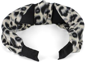 styleBREAKER Damen Haarreif mit Leoparden Animal Print Muster und Knoten, Retro Vintage Look, Haarband, Headband 04027022 – Bild 9
