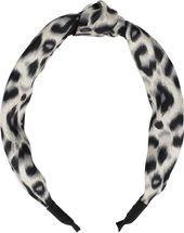 styleBREAKER Damen Haarreif mit Leoparden Animal Print Muster und Knoten, Retro Vintage Look, Haarband, Headband 04027022 – Bild 10