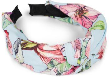 styleBREAKER Damen Haarreif mit buntem Blüten Muster Print und Knoten, Retro Vintage Look, Haarband, Headband 04027024 – Bild 11