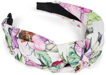 styleBREAKER Damen Haarreif mit buntem Blüten Muster Print und Knoten, Retro Vintage Look, Haarband, Headband 04027024 – Bild 16
