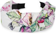 styleBREAKER Damen Haarreif mit buntem Blüten Muster Print und Knoten, Retro Vintage Look, Haarband, Headband 04027024 – Bild 17