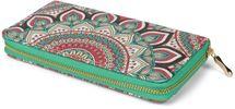 styleBREAKER Damen Geldbörse mit Paisley Ornament Muster, Mandala Stil, Reißverschluss, Portemonnaie 02040145 – Bild 7