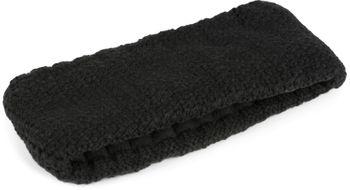 styleBREAKER Damen Stirnband in feiner Häkel Optik einfarbig, Thermo Fleece Futter, Uni Winter Headband 04026051 – Bild 12