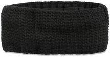 styleBREAKER Damen Stirnband in feiner Häkel Optik einfarbig, Thermo Fleece Futter, Uni Winter Headband 04026051 – Bild 10