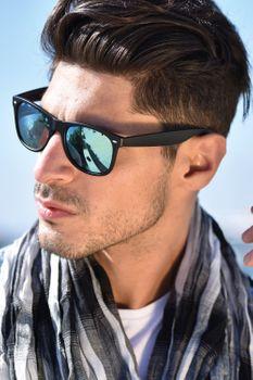 styleBREAKER Nerd Sonnenbrille mit verspiegelten oder getönten Gläsern, klassisches Retro Design, Unisex 09020039 – Bild 23