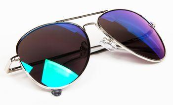styleBREAKER mirrorred Sunglasses, tinted Aviator Pilot Glasses with spring hinge, Unisex 09020037 – Bild 21