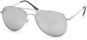 styleBREAKER mirrorred Sunglasses, tinted Aviator Pilot Glasses with spring hinge, Unisex 09020037 – Bild 8