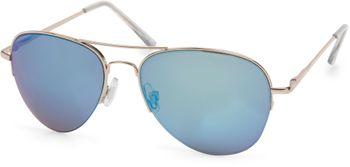 styleBREAKER Sonnenbrille verspiegelt, Pilotenbrille getönt mit Federscharnier, Unisex 09020037 – Bild 15