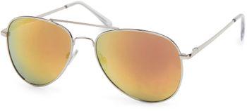 styleBREAKER mirrorred Sunglasses, tinted Aviator Pilot Glasses with spring hinge, Unisex 09020037 – Bild 7
