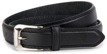 styleBREAKER Leder Gürtel in schmaler Ausführung / kürzbar 03010039 – Bild 3