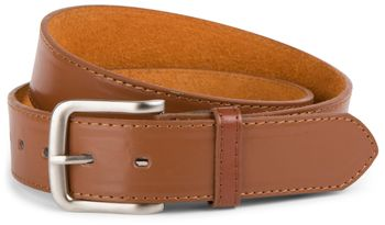 styleBREAKER leather belt in wide design, shortened 03010035 – Bild 1