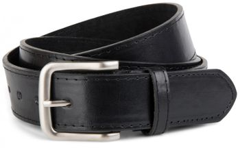 styleBREAKER leather belt in wide design, shortened 03010035 – Bild 3