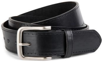 styleBREAKER leather belt in wide design, shortened 03010035 – Bild 2