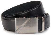 styleBREAKER Men's leather belt with automatic closure, shortened 03010032 – Bild 1