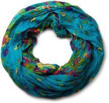 styleBREAKER loop tube scarf with flower print 01014012 – Bild 2