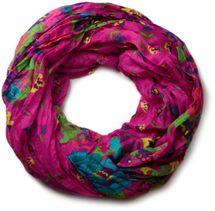 styleBREAKER loop tube scarf with flower print 01014012 – Bild 3