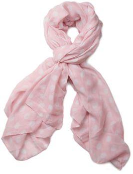 styleBREAKER Dot pattern scarf, shawl 01016061 – Bild 5