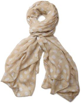 styleBREAKER Dot pattern scarf, shawl 01016061 – Bild 7