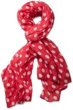 styleBREAKER Punkte Muster Schal, Tuch 01016061 – Bild 3