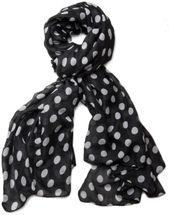 styleBREAKER Dot pattern scarf, shawl 01016061 – Bild 2
