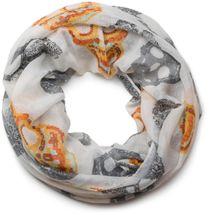 styleBREAKER Mexico Style Totenkopf Skull Muster Loop Schlauchschal 01018055 – Bild 14