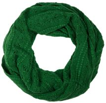 styleBREAKER knitted loop tube scarf with lace pattern, diamonds and ribbed 01018104 – Bild 4